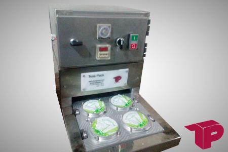 دستگاه پلمپ حرارتی بسته بندی لبنیات، بسته بندی ماست پنیر